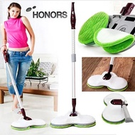 [HONORS] Electric Auto Twin Dual  Spin Wetdry Mop Cleaner 889H / Spinning mop/ Floor mop/ Dual MopSt