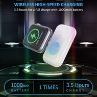 Portable Magnetic Wireless Charger for Apple Watch Travel Outdoor, 1000MAh Charger for Apple Watch Series 5/4/3/2/1/Nike+