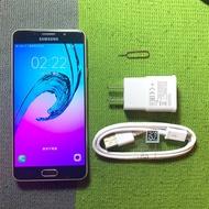 Samsung A7 2016 16G 5.5吋 9成新 金 A710 雙卡雙待 三星 二手機 舊機折抵 面交 貨到付款