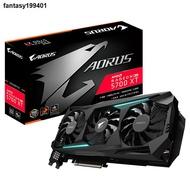 (現貨)✁☄☞技嘉AMD RX580 RX5700XT 8GB 臺式機電腦電競顯示卡8G獨顯游戲A卡