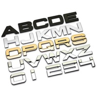 【木*卡*木B】AUDI BENZ BMW LEXUS VOLVO VW 賓士 奧迪 福斯 萬用 貼標車標字母標字標車貼
