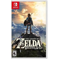 【Nintendo 任天堂】NS Switch 薩爾達傳說 曠野之息 中文美版(The Legend of Zelda: Breath of the Wild)