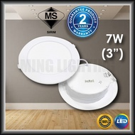 led downlight. [Sirim] LED Downlight 7W Round 3'' Recessed Downlight Daylight Cool Warm Ming Lighting [2 Years Warranty]