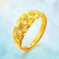 [ฟรีค่าจัดส่ง] แหวนทองแท้ 100% 9999 แหวนทองเปิดแหวน. แหวนทองสามกรัมลายใสสีกลางละลายน้ำหนัก 39.6 กรัม (96.5%) ทองแท้ RG100-1