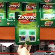 Zyrtec Indoor Outdoor Allergies 100 Tablets