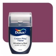 Dulux Colour Play Tester Wineberry Red 30RR 12/281
