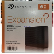美兒小舖COSTCO好市多代購~SEAGATE 3.5吋6TB外接硬碟USB3.0(1入)