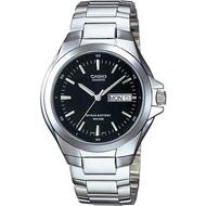 Casio แบตเตอรี่ 10 ปี นาฬิกาข้อมือผู้ชาย สายสแตนเลส รุ่น MTP-1228D