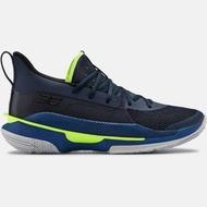 "Under Armour Curry 7 ""DUB NATION"" 深藍綠 籃球鞋 男鞋 3021258-405"