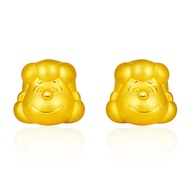 SK Jewellery 999 Pure Gold Lucy Earrings