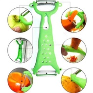 ผักผลไม้Peeler Multi-Function Apple Potatoคู่Julienne Cutter Slicer Peel GadgetมีดครัวAccessorie