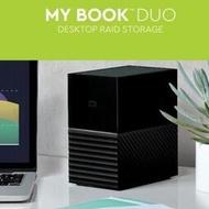 WD西部數據My Book Duo 20T移動硬盤24T磁盤陣列36T Type-c USB-C
