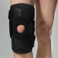 1PCS Double Hinged Knee Guard Support Elastic Patella Brace Knee Pad