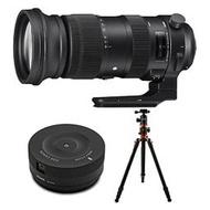 【美購】Sigma 60-600mm f/4.5-6.3 DG OS HSM運動鏡頭 附USB基座和三腳架 適Canon 全新