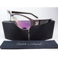 【信義計劃眼鏡】全新真品 Urband 手工眼鏡 日本製 鈦金屬膠腳 專利彈簧鏡腳 超越 Markus T Flair