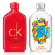 CK one Summer 2019夏日+2020金鼠限量版中性淡香水(100ml)X2入