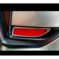 Lexus CT200h 2019 CT系列 鍍鉻後反光片後保桿 飾框 亮條 裝飾