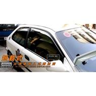 [晴雨窗]【短截式】比德堡崁入式晴雨窗 本田Honda Civic K8/3D 1996-2001年專用賣場有多種車款