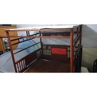 檜木紅眠床/古董床