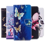 Wallet Phone Case for Samsung A51 Case Flip Cover Painting PU Leather for Samsung Galaxy A51 2019 Case Samsung A 51 Cover A515