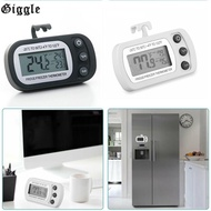 Refrigerator Thermometer Wireless Accessory Fridge Freeze LCD Thermometer