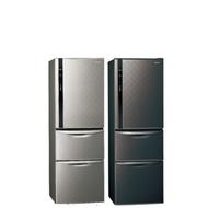 國際牌385公升三門變頻冰箱絲紋黑NR-C389HV-V絲紋黑