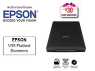 Epson V39 Flatbed Scanner Perfection ** Free $30 NTUC Voucher Till 2nd Mar 2019 **  V39 V 39