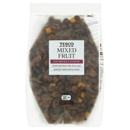 Tesco mix fruit for topping cake Biscuit and bread