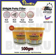 0.5kg Putty Filler (dempul) - Ready Stock!!!