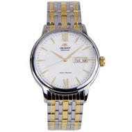 SAA05002WB AA05002W Orient Automatic Day Date Two Tone Watch
