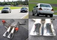 正 AMG C43 W202 尾段 排氣管 保險桿 大包 空力套件 大餅圈(BRABUS)W124 300CE 500E W140 W220 W211 E55 W210 W203 R129 SL CL
