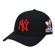 №mlb豬年帽子旗艦女ny韓國洋基隊正品幸運鴨舌帽2019新款男棒球帽
