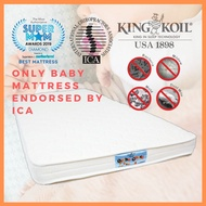 King Koil OrthoGuard Baby 2 Dual Foam 4 inch Aloe Vera or Anti Mosquito Mattress (only ICA-endorsed Baby Mattress)
