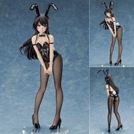 國產 青春豬頭少年不會夢到兔女郎學姐櫻島麻衣1/4兔女郎手辦模型