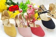 SALE!! รองเท้าคัชชูเด็กผู้หญิง พื้นนิ่ม มี2สี ให้เลือก เบอร์ 25 26 27 29 32 34  (1คู่)