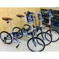 RALEIGH CLASSIC CALYPSO LIMITED EDITION FOLDING BIKE
