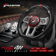FlashFire 六合一 鈴木車神賽車方向盤 900A NS Switch Windows PS4 PS3 XBOX