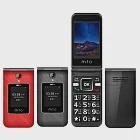 MTO M68+ 雙卡4G+4G折疊機※盒內附二顆電池※紅
