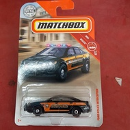 matchbox Ford Police Interceptor