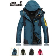 多功能 jack wolfskin 狼爪 飛狼 衝鋒衣 Gore-tex戶外防風防大雨防水保暖外套 抗寒登山服釣魚服雪服