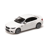 【名車館】Minicamps 410026200 BMW M2 Competition 2019 White 1/43
