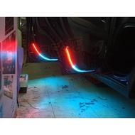 (小鳥的店)三菱 2014-20 OUTLANDER 地板燈 氣霸燈 車門燈 3528 晶體 台製 客製化 防水門縫燈