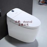 腳觸全自動翻蓋智能馬桶一體式即熱式手勢清洗烘干電動家用坐便器