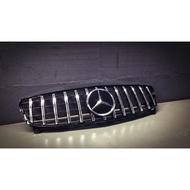 Benz w176 a180 a200 a250gt水箱罩 直柵水箱罩