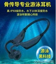 【快速出貨】游泳耳機游泳骨傳導不入耳藍芽耳機5.0無線健身運動型跑步MP3水下專業i  創時代 新年春節送禮