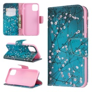 Iphone Painted Leather Case Protective Cover 12 Mini 12 12 Pro