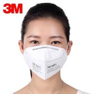 3M口罩9001防塵防工業粉塵男女式騎行打磨煤礦防塵防護口罩9002