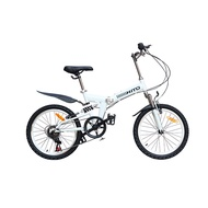 【SG Seller】20 Inch HITO Folding Bike Ultra Light Portable Mountain Bike Male and Female Adult Lady Variable Speed Bike