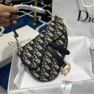 二手Dior saddle oblique 馬鞍包