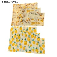 ThickGrey Food Wrap Beeswax Reusable Sustainable Plastic Free Beeswax Food Storage Wrap SG
